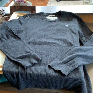 Men's Abercrombie cashmere blend sweater